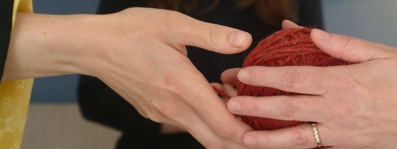 Hands yarn